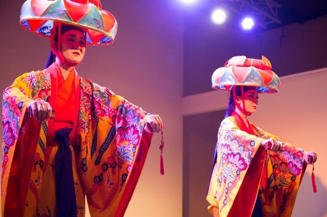 貸切プランの琉球舞踊イメージ